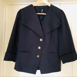 Rachel Zoe Navy Blue Jacket